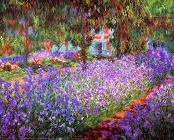 irises in monet s garden 03