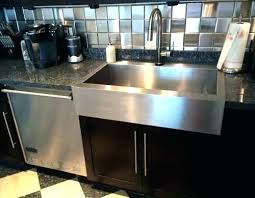 undermount vs drop in farmhouse sink k 4 a snless steel