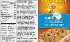 portionsrhusatoday proposed food label for cheerios food labels