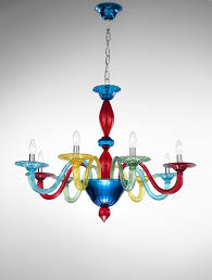 widely used coloured chandeliers intended for murano coloured glass chandelier art view 19 of