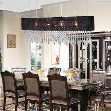 rectangular chandeliers dining room modern rectangular dining room chandelier