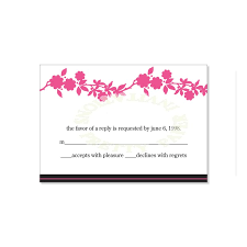 response cards template free printable wedding invitations and rsvp cards download them or
