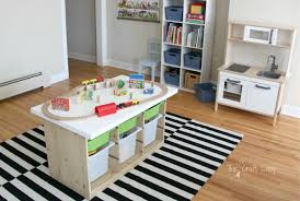 Super Large Craft Table At IKEA For 3 To 4 Stampers To Work At One Ikea Craft Room