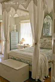 Vintage French Soul ~ Beautiful French Country Bedroom Luscious, white on  white.