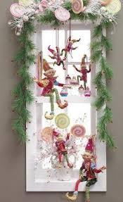 Pin by Myrna Burke on My new house ideas | Christmas window decorations,  Christmas decorations, Whimsical christmas