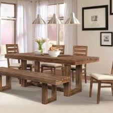 homely ideas dining room tables with benches and chairs distressed wood table set inside marvelous 10 chair of pine for rustic bench fair design remodel 9