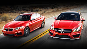 BMW Convertible bmw vs mercedes drift : BMW 228i Coupe vs Audi A3 Sedan and Mercedes-Benz CLA - Video ...