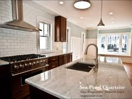 quartzite contemporary kitchen boston