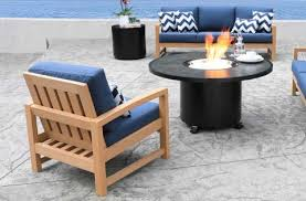 savannah teak patio furniture conversation set