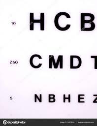 Optician Eye Test Chart Stock Photo Edwardolive 149518134