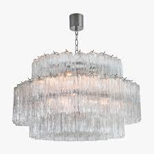 pentagon drum chandelier