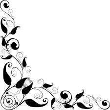 Clipart Design Floral Design Corner Frame Vector Clipart Best Pattern Design