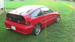 SuperCrex Honda CRX Si B18 Turbo Nitrous - YouTube