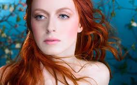 Tapety Tvář Digitální Umění ženy Ryšavý Portrét Dlouhé Vlasy