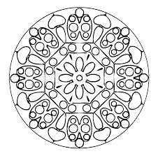 Mandala Per Bambini Da Stampare Az Colorare