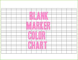 44 Reasonable Prismacolor Marker Chart