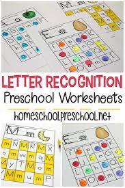 Birds Chart For Kindergarten Free Printable Letter Recognition Worksheets For