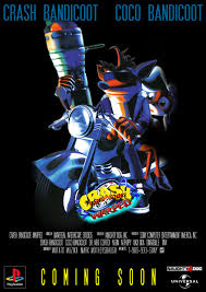 i recreated the high res ultra rare crash bandicoot warped crash bandicoot warped movie poster remade by skemokyle