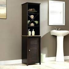 sauder bathroom cabinets bath peppercorn collection wall cabinet sauder bathroom storage cabinets