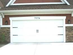 garage door decor marvelous decorative hardware in stylish home decoration plan with kit