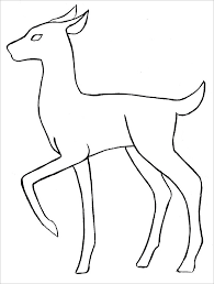 Deer Body Outline Template body outline template 21 free word, excel, pdf format download on frame outline template