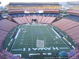 Aloha Stadium Seating Chart Concert Aloha Stadium Yellow A Rateyourseats Com