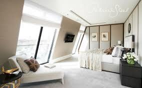 Kleines Schlafzimmer Mit Schräge Leinen Bettwäsche Stonewashed Aus