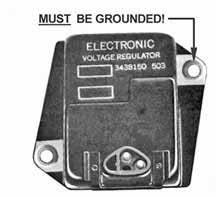 vintage chrysler electrical repairs and updates mopar charging system wiring at Wiring Mopar Electronic Voltage Regulator