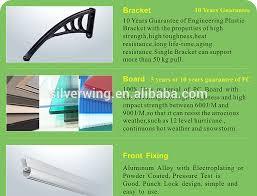Tende Da Balcone In Plastica : Per esterni diy balcone di plastica impermeabile tende da sole