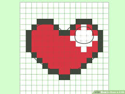 Graph Paper Draw How To Draw In 8 Bit 8 Steps With Pictures Wikihow