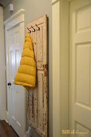 Old Door Coat Rack Repurposed Old Door Ideas The Idea Room 23
