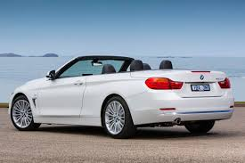 BMW Convertible bmw 4 series convertible white : 2014-BMW-4-Series-Convertible-420d-rear-quarter - ForceGT.com