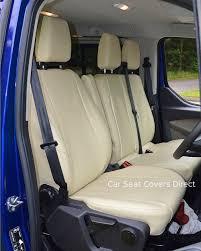 ford transit custom van tailored seat covers 2016 present