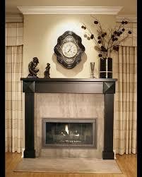 stylish black traditional fireplace mantel design idea