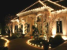 Home Exterior Christmas Design With Lights Full Beautify The Home Decoration  And Christmas Trees Around .