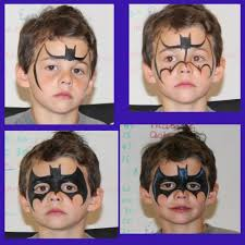 Face Painting Superheroes Design Batman Face Painting Superhero Face Painting Ideas Boy