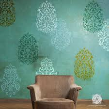 large wall stencils for paintingWall Stencils for Painting  Trendy  Classic Stencils for DIY