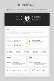 Brian Smith Ux Ui Designer Resume Template 66981