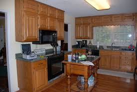 Oak To White Cabinets Kitchen Color Ideas With Light Oak Cabinets Wallpaper For All
