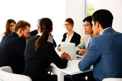 Resultado de imagem para reunião de empresarios