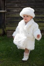 fur coat hat and set in ivory