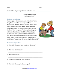 Look and see in the woods | reading comprehension. Free Comprehension Worksheets Forade And Syllabus Printable Language Samsfriedchickenanddonuts