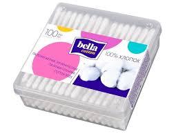 <b>Bella</b> Ватные <b>палочки</b> Cotton в пластиковой квадратной упаковке ...