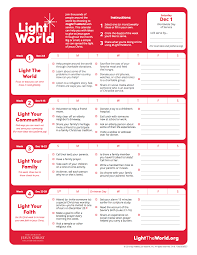 2018 Light The World Calendar How The Light The World Campaign Is Changing This