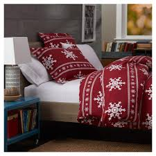 pinzon 160 gram cotton flannel duvet cover