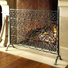 single panel fireplace screen single fireplace screen single panel fireplace screens