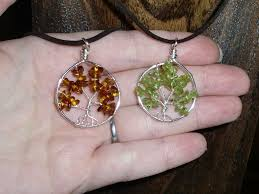 picture of wire wrapped tree of life tutorial