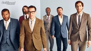Actors Round Table Inside Thrs Comedy Actor Roundtable With Ricky Gervais Jordan