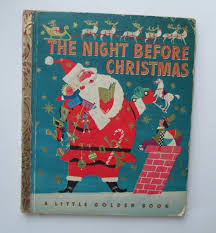 Little GOLDEN Book The NIGHT Before CHRISTMAS 1949 D Ed | Etsy