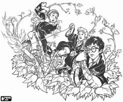 Disegni Di Harry Potter Da Colorare E Stampare